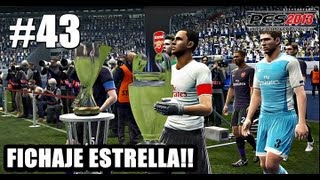 PES 2013 Master League - Final Supercopa de Europa + FICHAJE ESTRELLA!! Cap. #43