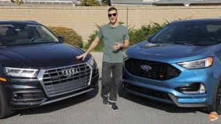 $40k Compact SUVs – 2019 Audi Q5 vs 2019 Ford Edge ST