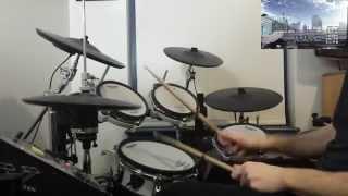 Durarara!!x2 Shou OP - HEADHUNT - Drum Cover
