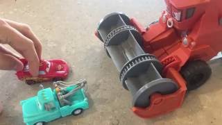 Color Changer Frank Mater Lightning McQueen Tractor Tippin' Story