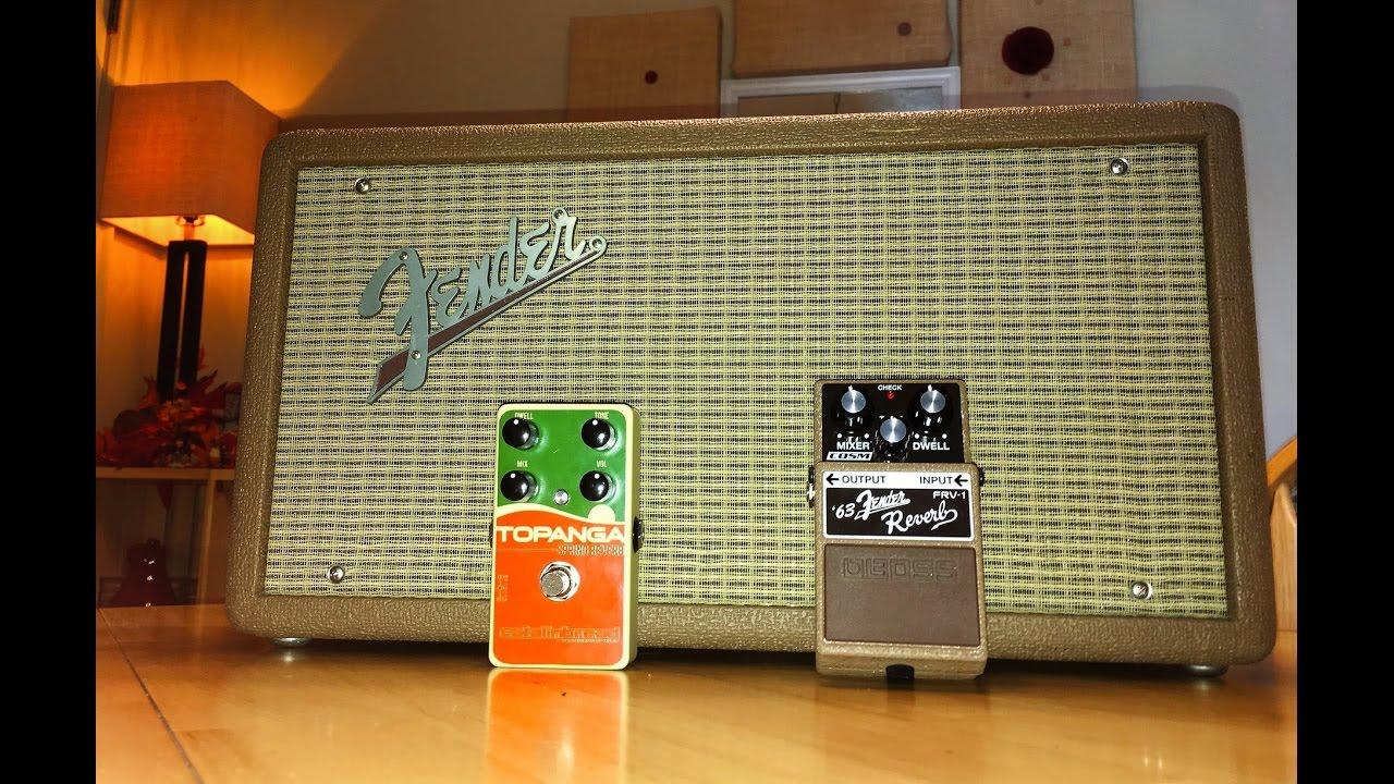 Fender 6g15 Fender Reverb Reissue Vs Catalinbread Topanga