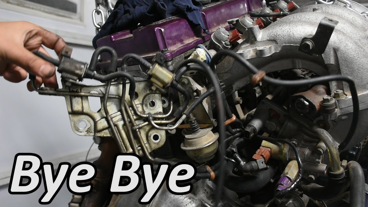 Simplifying the Engine  EGR, Emissions, Heater, and SCV Delete  YouTube