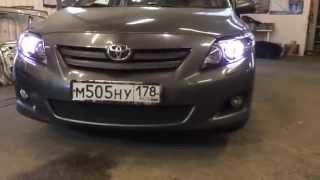 Toyota corolla установка биксеноновых линз morimoto(, 2014-09-21T19:50:07.000Z)