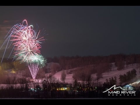 Mad River Mountain: Winter Fest Torch Light Parade & Fireworks