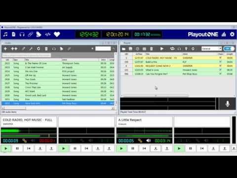 PlayoutONE Radio Playout Software Introduction