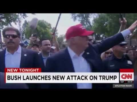 Donald Trump Presidential Candidates Debate 2016 - Jeb Bush Launches Attack on Donald Trump