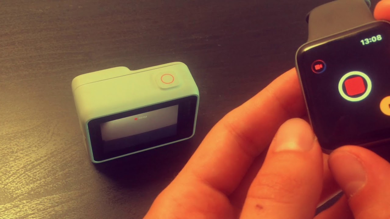 Controlling Your GoPro With Apple Watch - YouTube