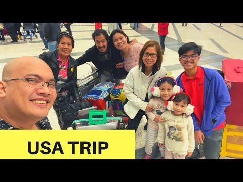 Manila - Taiwan - USA Trip - THE JOURNEY