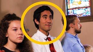 Sleeping in Church - Zach King Magic