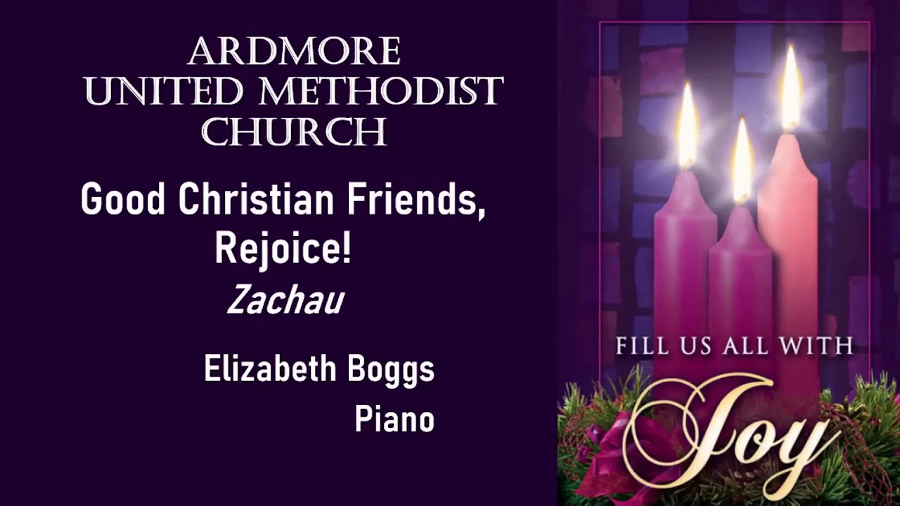 December 13th Online Worship Ardmore UMC PA