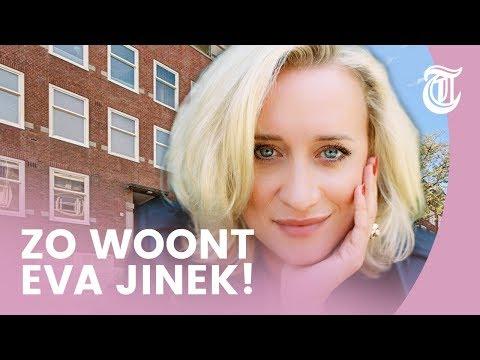 Binnenkijken in appartement Eva Jinek - BEKENDE HUIZEN #01
