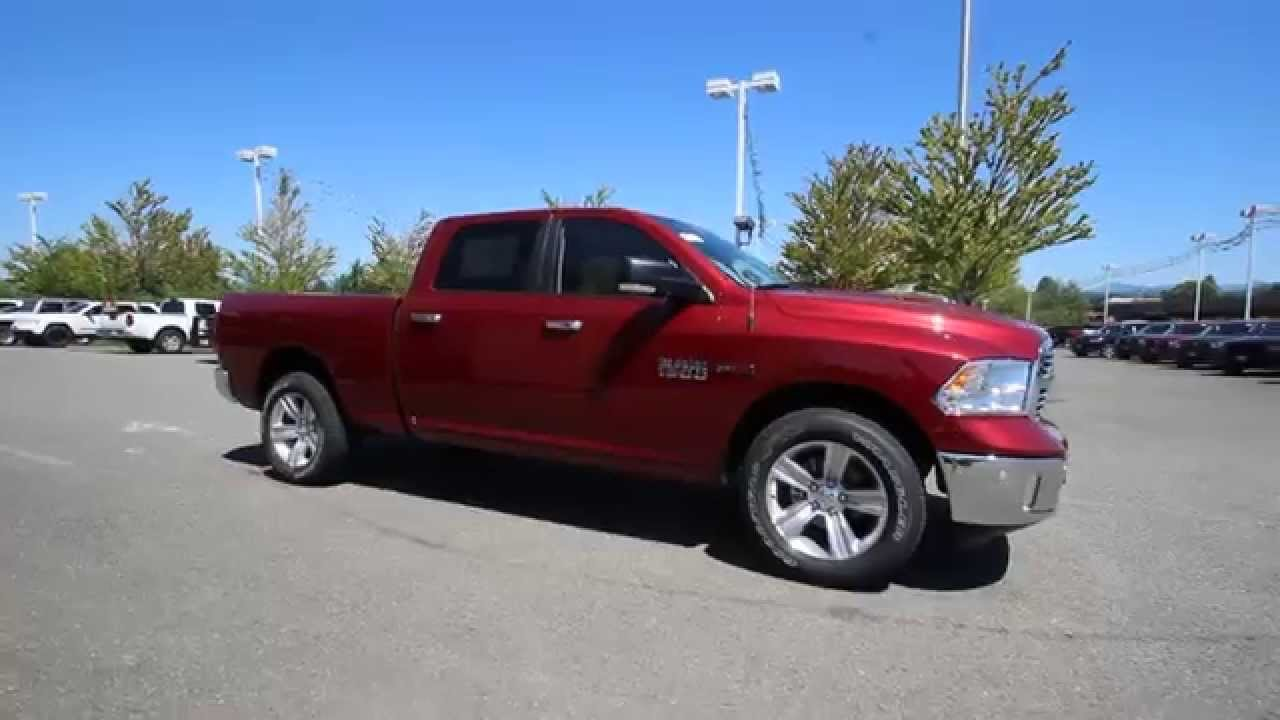 2015 Dodge Ram 1500 Big Horn Crew Cab | Deep Cherry Red | ES352777 | Everett | Snohomish - YouTube