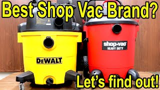 Which Shop Vac is Best? Let's find out!