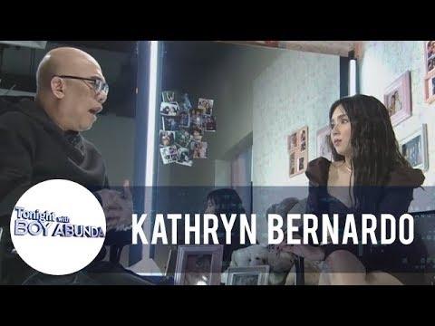 "TWBA: Kathryn Bernardo on her bashers calling her ""pabebe"""