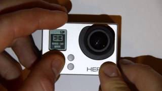 On Screen Display (OSD): GoPro HERO3 Menu and camera setup