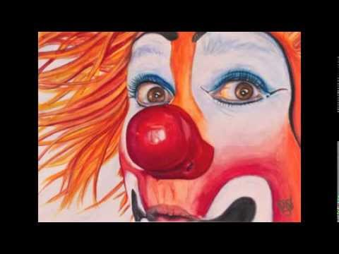 Great Art -Clown Portraits 1 by Patty Sue O'Hair-Vicknair