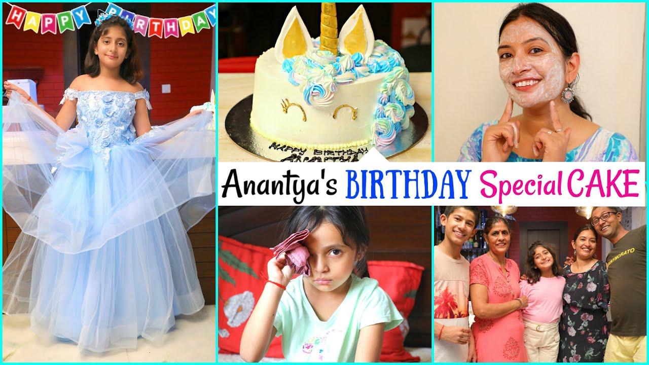 Anantya's BIRTHDAY Special CAKE - A Day In My Life  | #WakeupWithCoco #CookWithNisha