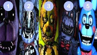 FNAF 1, 2, 3, 4, 5 Bonnie Simulator