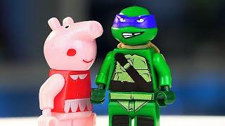Китайская LEGO Свинка Пеппа и Другие!