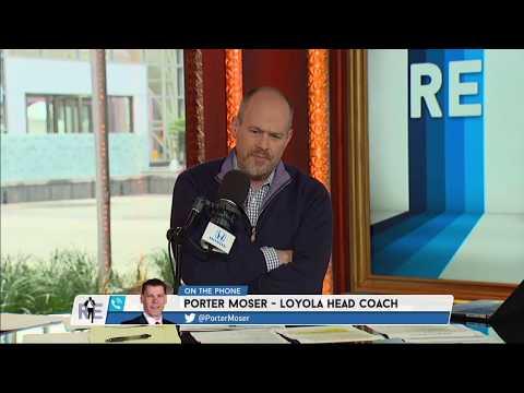 Loyola Chicago HC Porter Moser on His Career Jouney   The Rich Eisen Show   3/23/18