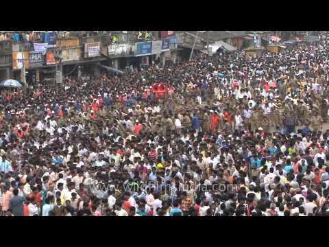 Jagannath Puri Rath Yatra : Ceremonial procession of the deities