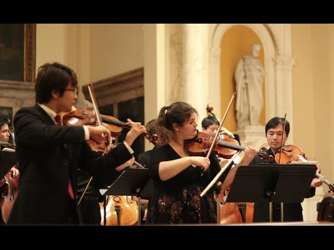 [NYCP] Bach - Concerto For 2 Violins In D Minor (Xiao Wang & Elizabeth Fayette)