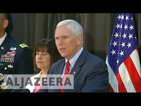 Thumbnail: Mike Pence in South Korea reassure allies amid tensions