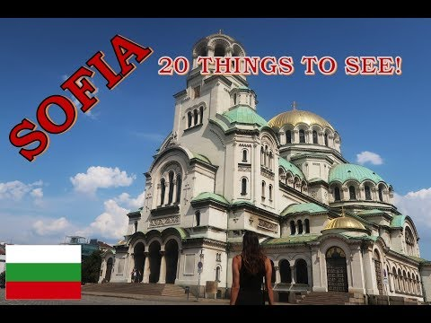 20 Things to see in Sofia! | Travel Vlog #28