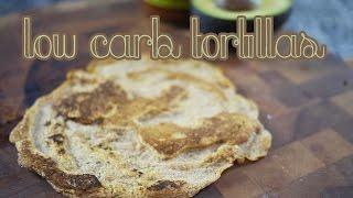 Low Carb Tortillas | Gluten Free & Paleo