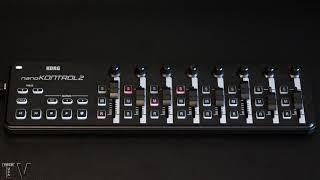 korg nanoKontrol 2 control surface review
