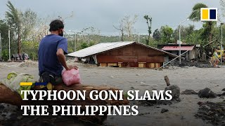 Typhoon Goni, Philippines' strongest storm of 2020, kills at least 10 people