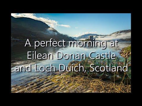 A Perfect Morning At Eilean Donan Castle And Loch Duich, Scotland