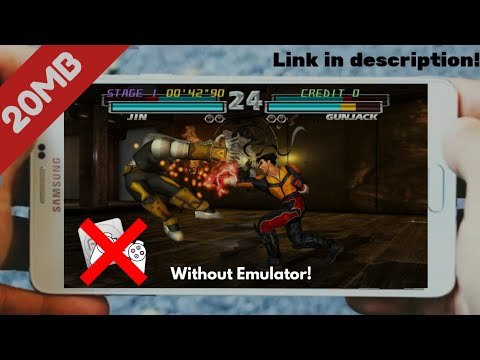 [20MB] Tekken 3 Apk For Android Without Emulator!!  #Smartphone #Android