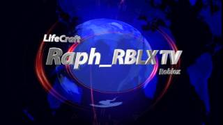 Intro pour ma chaine -Roblox- et -LifeCraft- Qc