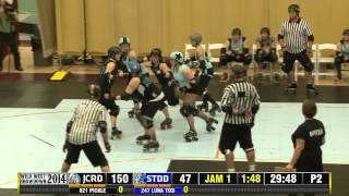 Junction City Roller Dolls vs Sick Town Derby Dames