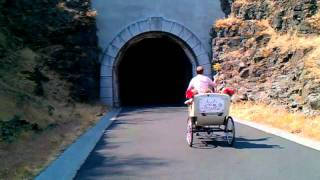 Wedding Pedicabs in Mosier, Columbia Gorge