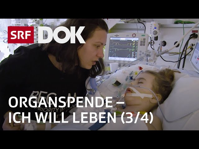 Organspende – Zwischen Hoffen und Bangen einer Transplantation (3/4) | Doku | SRF DOK