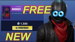 "FORTNITE- HOW TO GET ""BURNOUT"" SKIN FOR FREE!! 100% NOW WORKING GLITCH!! HURRY BEFORE TOO LATE!"