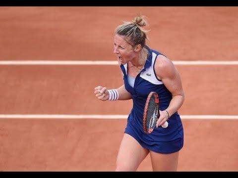 Johanna LARSSON vs Pauline PARMENTIER Highlights WTA Luxembourg 2017