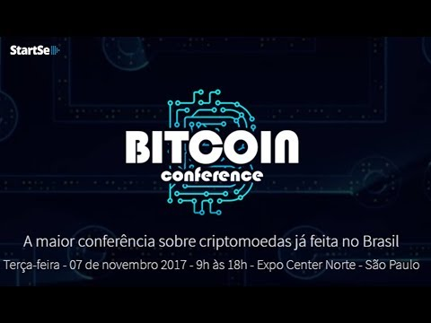 Bitcoin Conference da StartSe | 7 de novembro em São Paulo