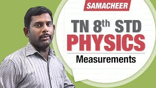 Measurements || 8th Std Physics || 8th Std Science
