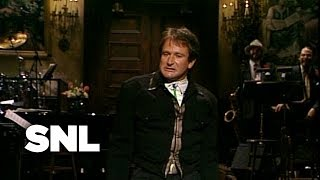 Robin Williams Monologue: Safe Sex - Saturday Night Live