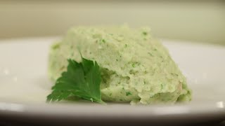 Cilantro Cauliflower Smash Recipe For Thanksgiving