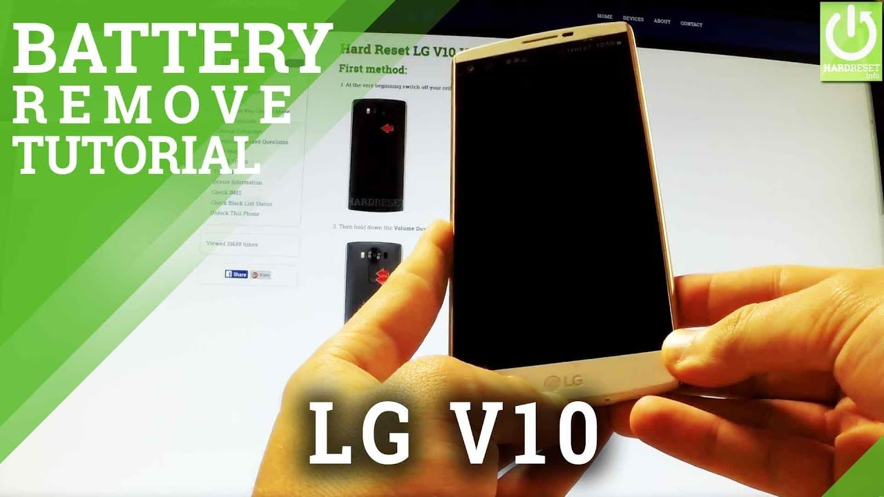 How to Soft Reset my phone - LG VS990 V10 (Verizon