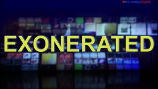 News Words: Exonerated