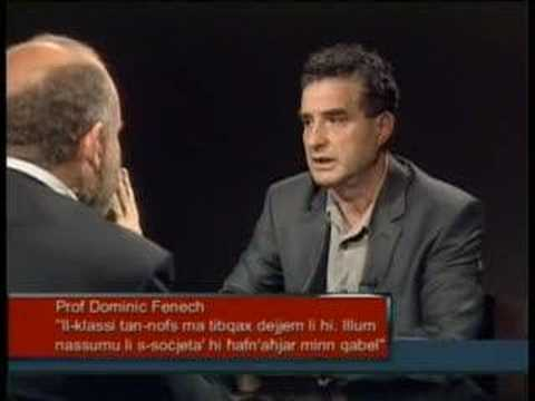 REPORTER - Prof Dominic Fenech - 28 May 2008