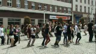Belgijka zabrze flash mob