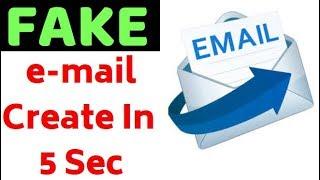 Het Maken van Valse E-mail Account Binnen 5 Tweede - Gebruik & Via e-Mail