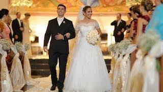 Entrada da noiva Paula e Eduardo_Digital Vídeo Produtora Goiâna_PUC