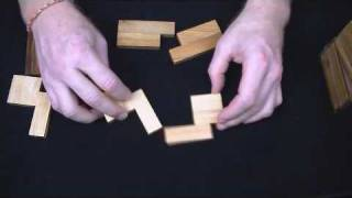 Cover Up Wood Brain Teaser Puzzle - A New And Interesting Design By Erich Friedman